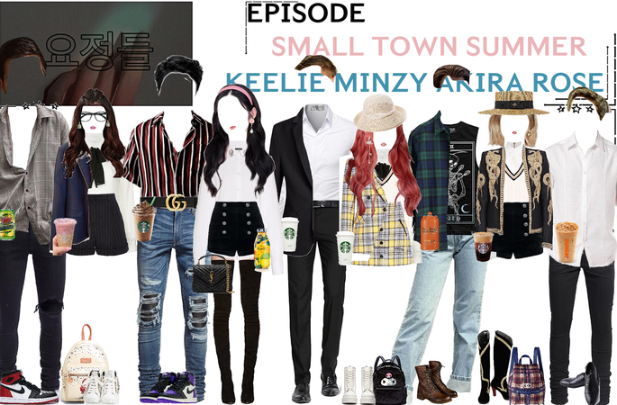 FAIRYTALE EPISODE 4: SMALL TOWN SUMMER | KEELIE & DEREK. ROSÉ & DAMON. MINZY & TOM. AKIRA & WADE + WILL SCENES