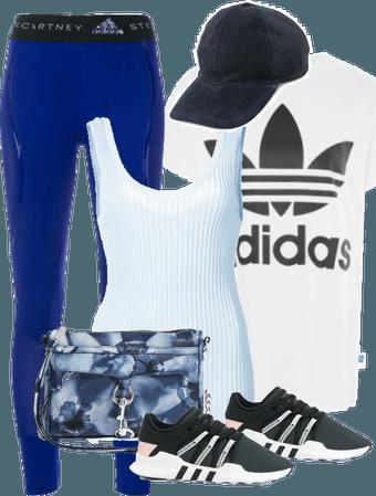 Adidas Shirt and Running Gear