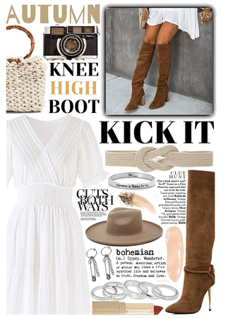 KNEE HIGH BOOTS: Boho Boot