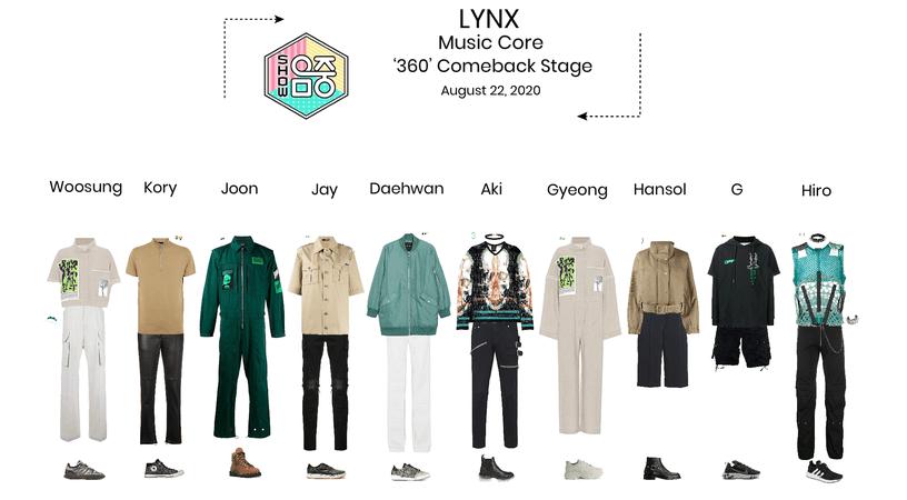 Lynx// '360' Music Core Comeback Stage