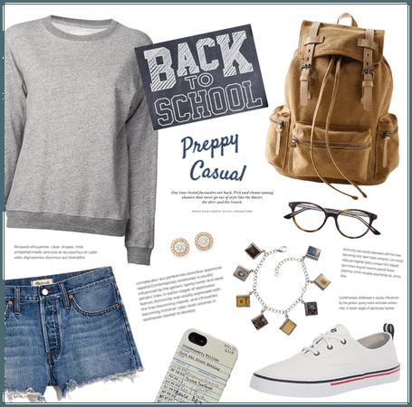 Back to School: Preppy Casual