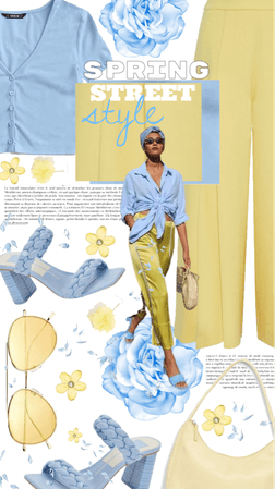 spring street style in pastels