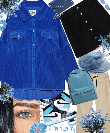 Blue corduroy🦋