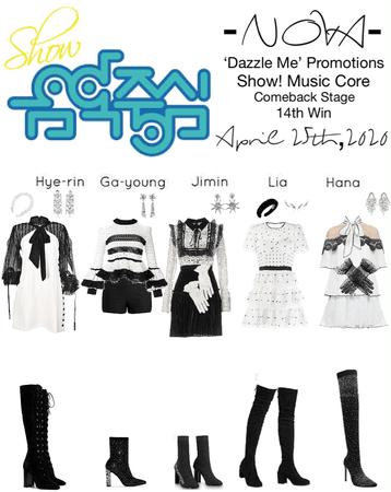 -NOVA- 'Dazzle Me' Show! Music Core Stage