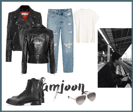 70's Greaser Boy Kim Namjoon