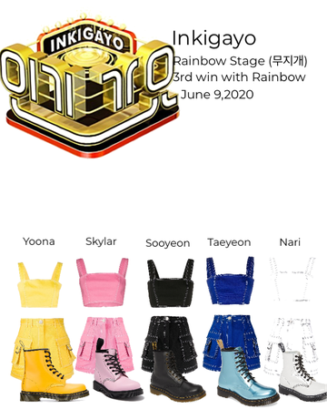 Inkigayo Rainbow 3rd win