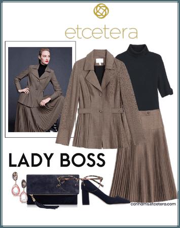 ETC Fall 2020: Birdseye Jacket & Skirt with Vessel
