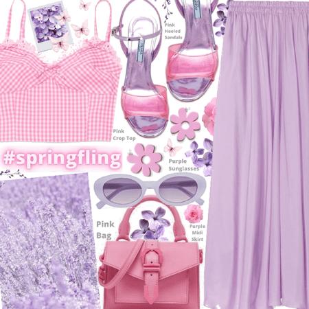 Spring Fling 💗💜