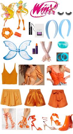 Winx Club Stella Halloween Costume