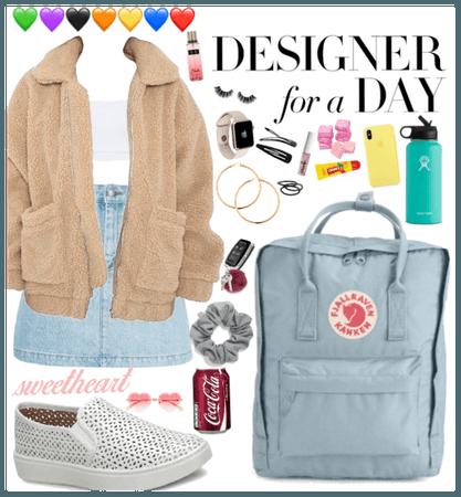 Designer for a day!