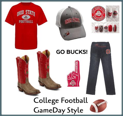 Go Buckeyes! College football gamed