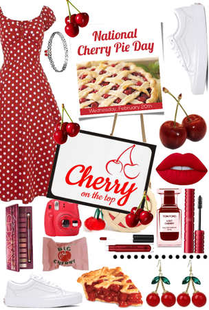 National Cherry Pie Day!!