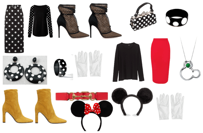 Minnie and Mickey Mouse Day Style