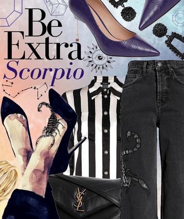 Be extra Scorpio