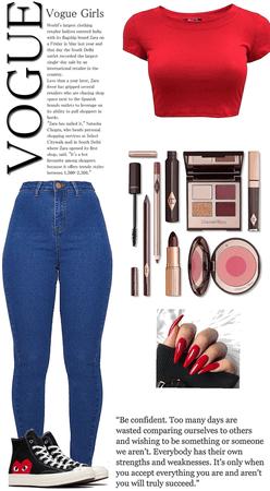 Set 92: Skinny Jeans & Converse