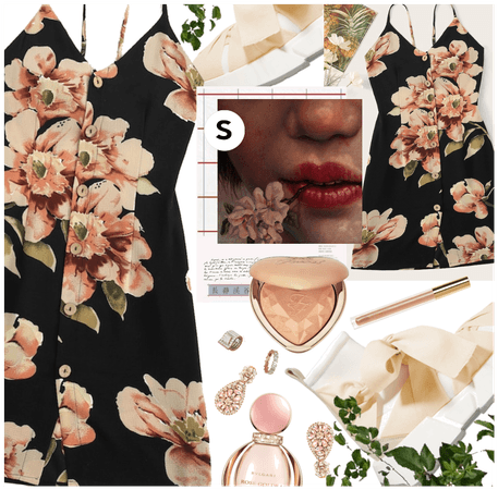 ﹒S H E I N﹒|﹒S T Y L E﹒⎛GLORIOUS BLOSSOMS ⎠🌸