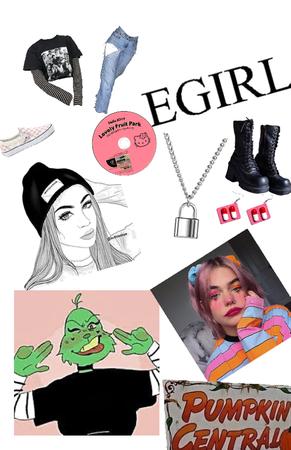 #eGirl