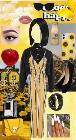 A blissful yellow