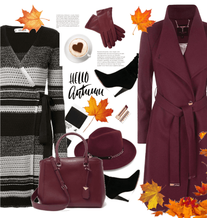 It's time for burgundy in your office)