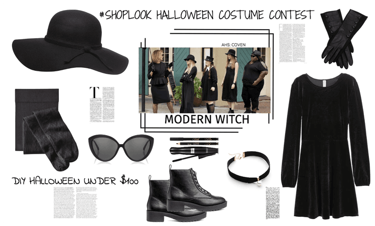 HALLOWEEN CONTEST/DIY UNDER 100/MODERN WITCH