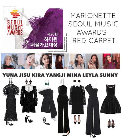 {MARIONETTE} Seoul Music Awards Red Carpet