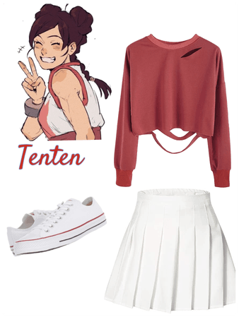 Tenten's outfit in Pain