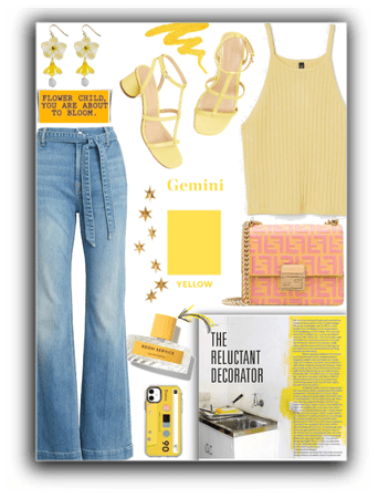Gemini lucky color: Yellow