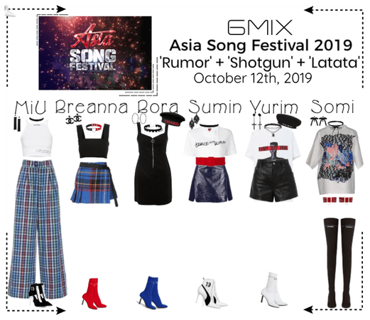 《6mix》Asia Song Festival 2019