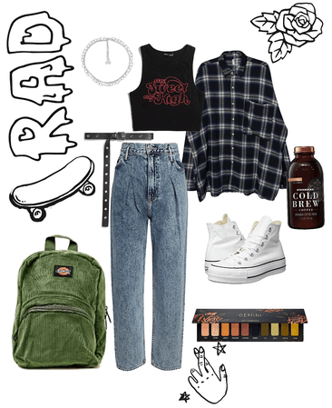 Back to School Grunge
