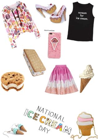 I scream, you scream, we all scream for ice cream🍦