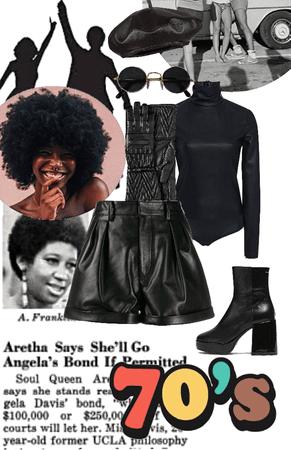 70's in Black