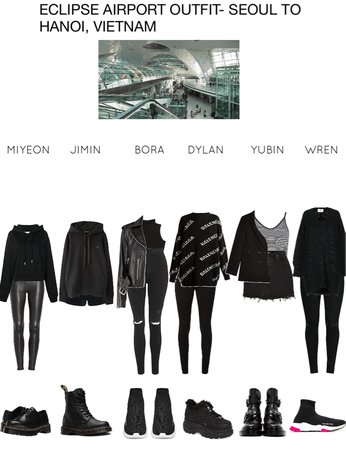 ECLIPSE AIRPORT OUTFIT- SEOUL TO HANOI, VIETNAM