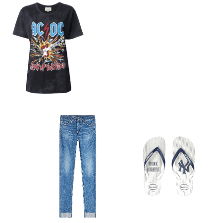 AC/DC Festival Outfit