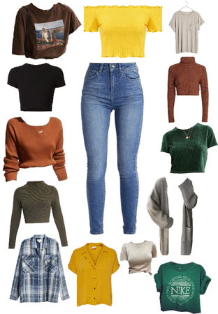 Tops that go with Jeans