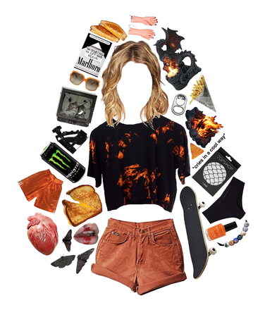 Alice Flame Aesthetic