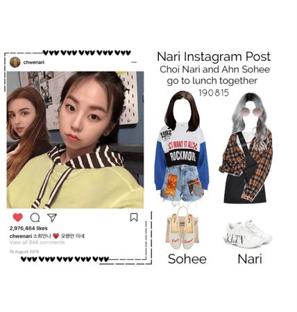 Nari Instagram Update 190815