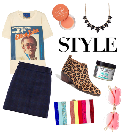 Elton John style
