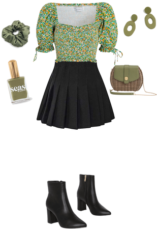 Casual Olive Look