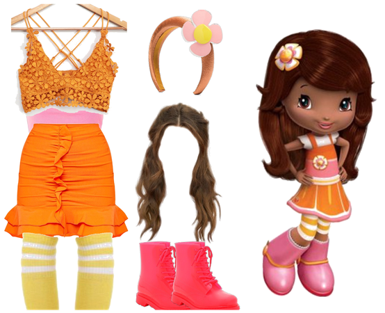 Orange Blossom Character Outfit