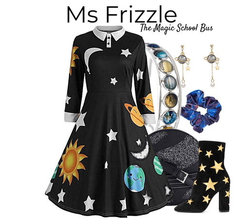 ms frizzle -the magic school bus