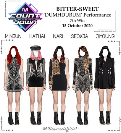 BITTER-SWEET [비터스윗] M Countdown 201015