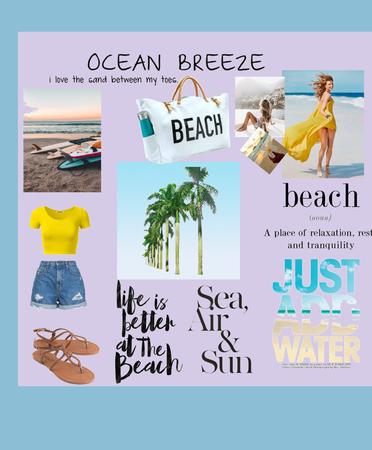 the beach vibe