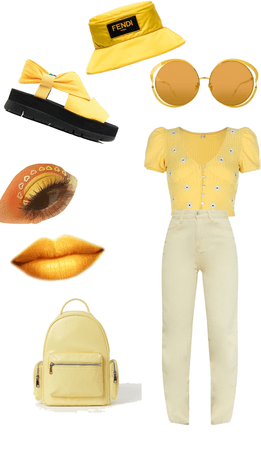 yellow outfith💛