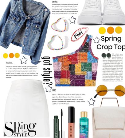 Spring Crop Top