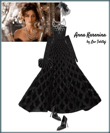 Anna Karenina - cosplay book character