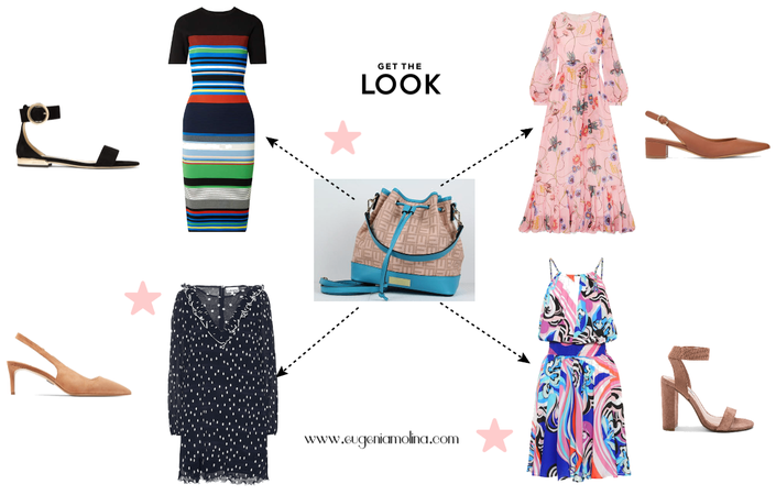 Styling printed dresses