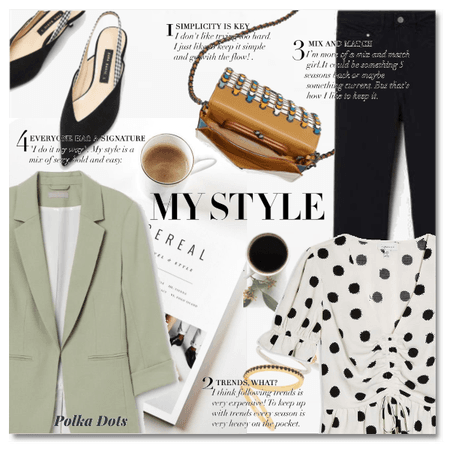 My Style Challenge: The polka dot top