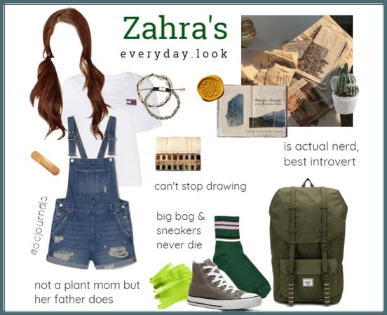 Zahra's Everyday Look