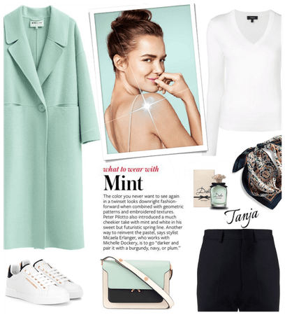 What to Wear/ Mint Green Coat