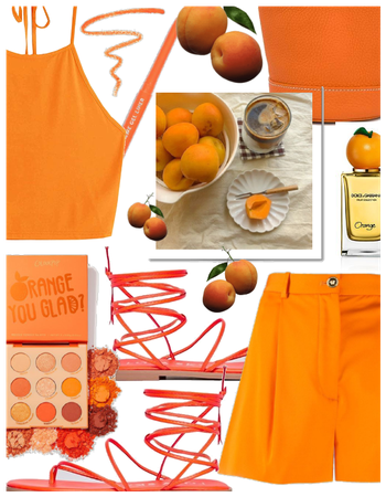 Summer Monochrome ( Falling in love with 🍊 )